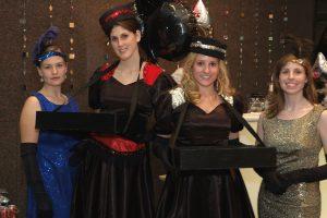 costumed servers